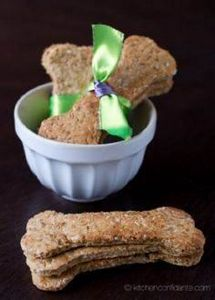 Homemade Dog Biscuits! - 400 Dog Food And Dog Treat Recipes - RecipePin.com