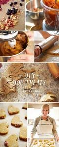 DIY Dog Treat recipe from our Hall - 400 Dog Food And Dog Treat Recipes - RecipePin.com