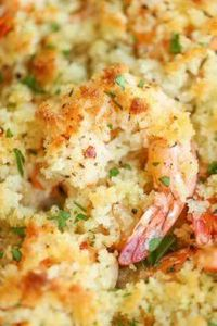 Baked Shrimp Scampi - This is the  - 275 Fish Recipes - RecipePin.com