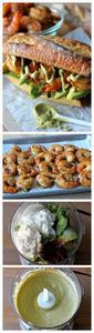 Spicy Roasted Shrimp Sandwich with - 275 Fish Recipes - RecipePin.com
