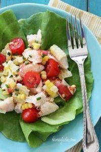 Chilled Lobster Salad with Sweet S - 275 Fish Recipes - RecipePin.com