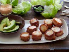Bacon Wrapped Scallops with Spicy  - 275 Fish Recipes - RecipePin.com