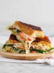 Kennebunkport Grilled Cheese Sandw - 275 Fish Recipes - RecipePin.com