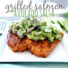 WHOLE30 APPROVED grilled salmon wi - 275 Fish Recipes - RecipePin.com