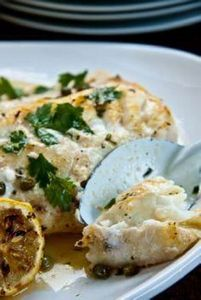 Baked Fish with Lemon Butter and C - 275 Fish Recipes - RecipePin.com