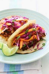 Blackened Fish Tacos with Cabbage  - 275 Fish Recipes - RecipePin.com