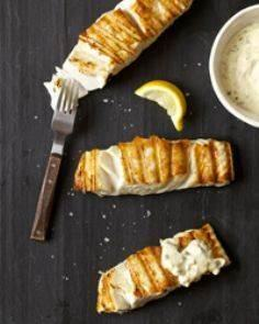Grilled Halibut with Orange Rémoul - 275 Fish Recipes - RecipePin.com