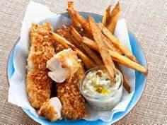 Baked Fish and Chips Recipe : Food - 275 Fish Recipes - RecipePin.com