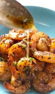 Spicy shrimp with orange brown but - 275 Fish Recipes - RecipePin.com
