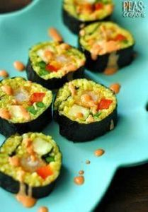 Peas and Crayons: Southwest Sushi  - 275 Fish Recipes - RecipePin.com