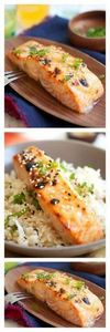 Miso-glazed broiled salmon. Give y - 275 Fish Recipes - RecipePin.com