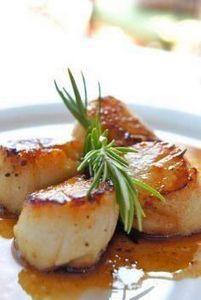Healthy and Gourmet: Scallops with - 275 Fish Recipes - RecipePin.com