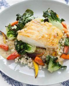 Seared Cod with Kaffir Lime Butter - 275 Fish Recipes - RecipePin.com