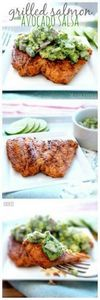 I am only pinning for the Avocado  - 275 Fish Recipes - RecipePin.com