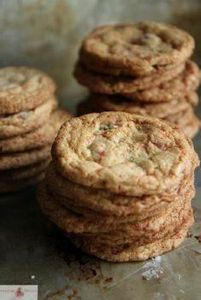 Candy Cane Chocolate Chip Cookies  - 275 Gluten Free Recipes - RecipePin.com