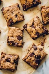 Oatmeal Chocolate Chip Bars with A - 275 Gluten Free Recipes - RecipePin.com