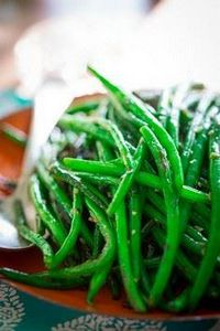 Simple skillet green beans - 195 Green Bean Recipes - RecipePin.com