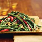 Green Beans With Shallots and Red  - 195 Green Bean Recipes - RecipePin.com