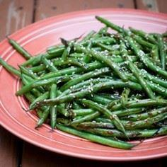 Sesame Blister Beans - Delicious g - 195 Green Bean Recipes - RecipePin.com