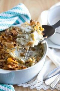 Mom's Green Bean Casserole | THANK - 195 Green Bean Recipes - RecipePin.com
