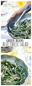 Green Beans Blue Cheese Salad - 195 Green Bean Recipes - RecipePin.com