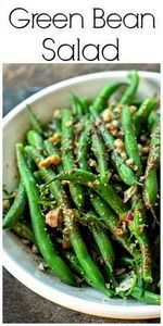 Fresh Green Bean Salad is a refres - 195 Green Bean Recipes - RecipePin.com