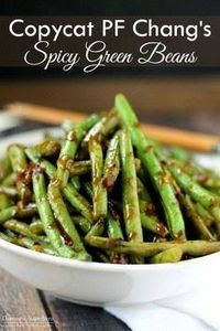 Copycat PF Chang's Spicy Green Bea - 195 Green Bean Recipes - RecipePin.com
