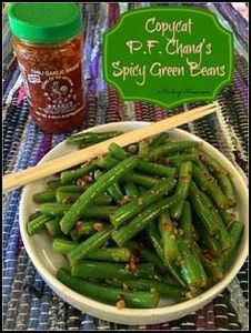 Copycat P.F. Chang's Spicy Green B - 195 Green Bean Recipes - RecipePin.com