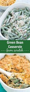Creamy Green Bean Casserole From S - 195 Green Bean Recipes - RecipePin.com