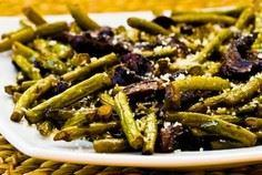 Roasted Green Beans and Mushrooms  - 195 Green Bean Recipes - RecipePin.com