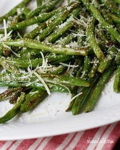 Tender crisp green beans roasted t - 195 Green Bean Recipes - RecipePin.com