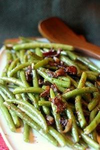 Sauteed Green Beans with Bacon and - 195 Green Bean Recipes - RecipePin.com