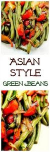 Green Beans Asian Style...  The As - 195 Green Bean Recipes - RecipePin.com