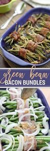 Green Bean Bacon Bundles make the  - 195 Green Bean Recipes - RecipePin.com