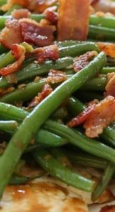 One Skillet Chicken with Bacon and - 195 Green Bean Recipes - RecipePin.com