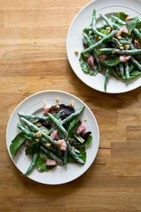 Salad of Haricots Verts and Green  - 195 Green Bean Recipes - RecipePin.com