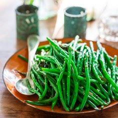 Simple-Skillet-Green-Beans - 195 Green Bean Recipes - RecipePin.com