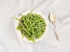 Haricots Verts with Dijon Vinaigre - 195 Green Bean Recipes - RecipePin.com