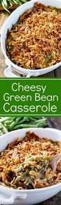 A Cheesy Green Bean Casserole made - 195 Green Bean Recipes - RecipePin.com