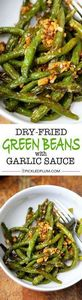The easiest and tastiest Dry-Fried - 195 Green Bean Recipes - RecipePin.com