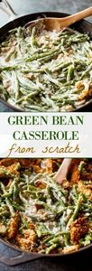 Creamy, comforting green bean cass - 195 Green Bean Recipes - RecipePin.com