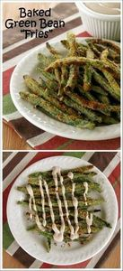 Crispy Green Bean Fries with Balsa - 195 Green Bean Recipes - RecipePin.com