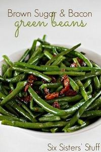 Sugar, sugar. Get the recipe from  - 195 Green Bean Recipes - RecipePin.com