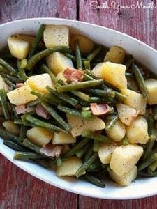 Southern Style Green Beans & P - 195 Green Bean Recipes - RecipePin.com