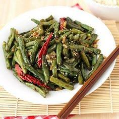 Szechuan-String-Beans - 195 Green Bean Recipes - RecipePin.com