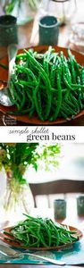 simple skillet green beans - Healt - 195 Green Bean Recipes - RecipePin.com