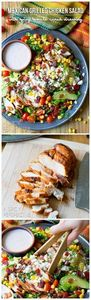 Zesty Mexican Grilled Chicken Sala - 300 Healthy Dinner Recipes - RecipePin.com