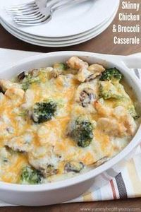 This healthy casserole is filled w - 300 Healthy Dinner Recipes - RecipePin.com