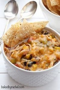 Hearty slow cooker black bean chic - 300 Healthy Dinner Recipes - RecipePin.com