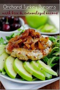Orchard Turkey Burgers are moist,  - 300 Healthy Dinner Recipes - RecipePin.com